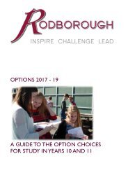Y9 Options Booklet 2017
