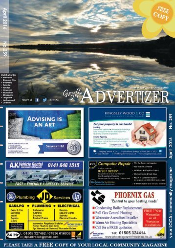 259 April 2016 - Gryffe Advertizer
