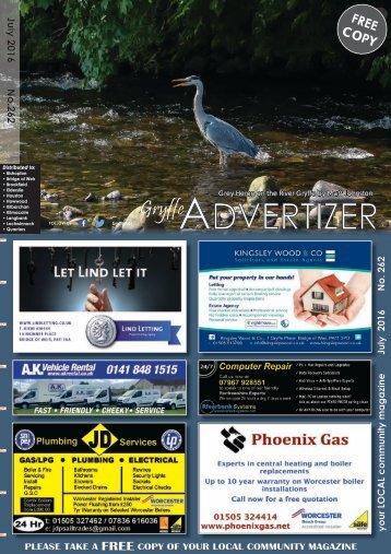 262 July 2016 - Gryffe Advertizer