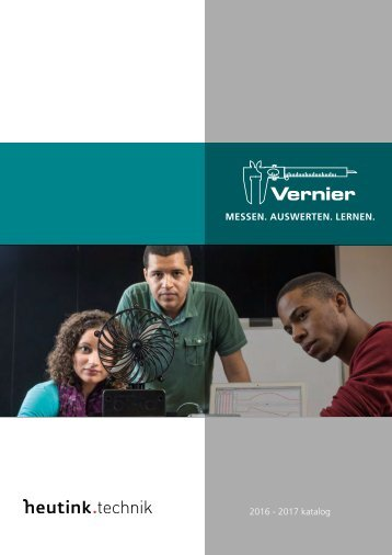 Katalog Heutink Technik -Vernier 2017