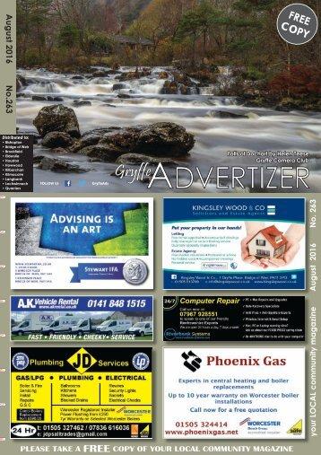 263 August 2016 - Gryffe Advertizer