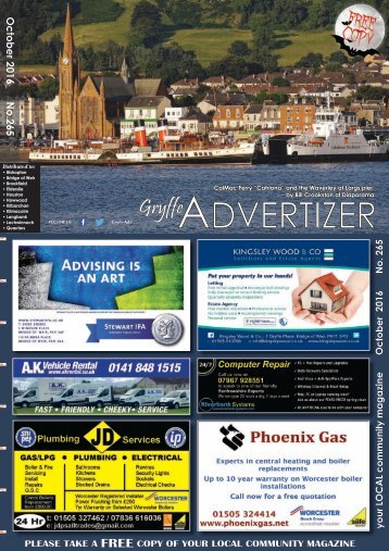 265 October 2016 - Gryffe Advertizer