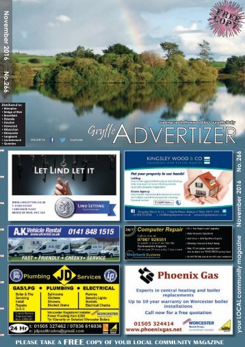 266 November 2016 - Gryffe Advertizer