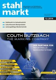 stahlmarkt 12.2014 (Dezember)