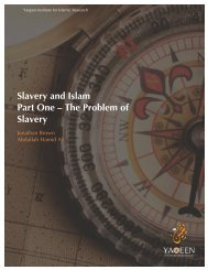 Slavery and Islam Part One – The Problem of Slavery