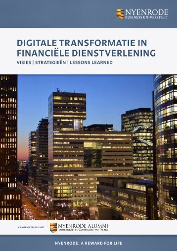 DIGITALE TRANSFORMATIE IN FINANCIËLE DIENSTVERLENING