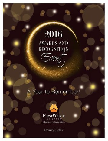 Northeast Wisconsin Award winning First Weber agents 2016