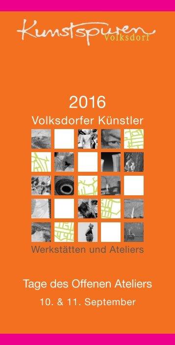 Kunstspuren Offene Ateliers 2016