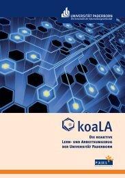 Die koaktive Lern - koaLA - Universität Paderborn