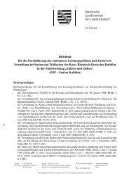 Richtlinie für die Durchführung der stationären Leistungsprüfung und