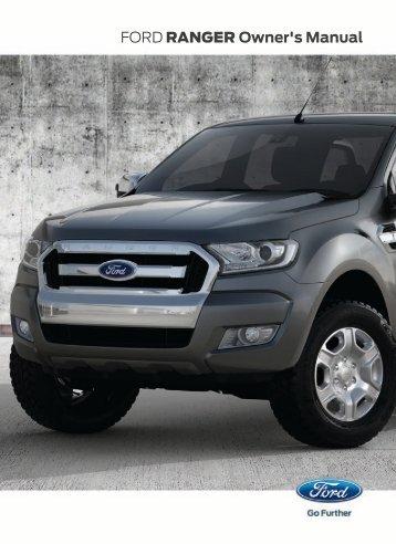 Ford Ranger Manual