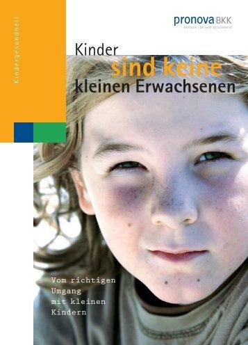 Kinder - pronova BKK