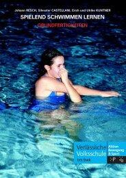 spielend schwimmen lernen grundfertigkeiten