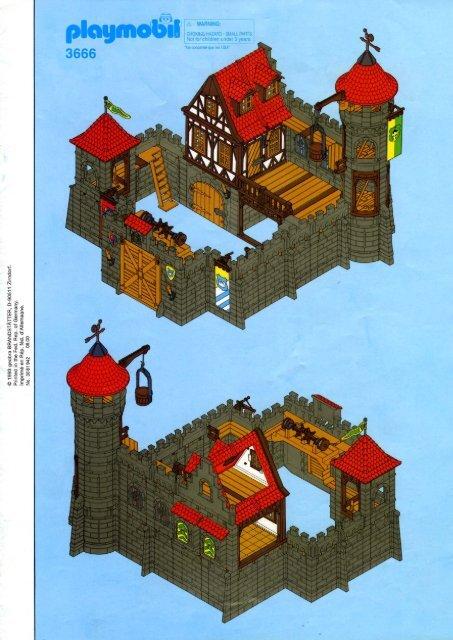 Notice chateau princesse playmobil extension for princess for Notice de montage chateau princesse playmobil