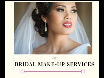 Bridal Packages 20177