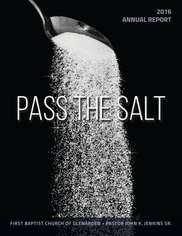 PASS THE SALT