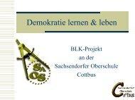 Demokratie lernen und leben - Bildungsserver Berlin - Brandenburg