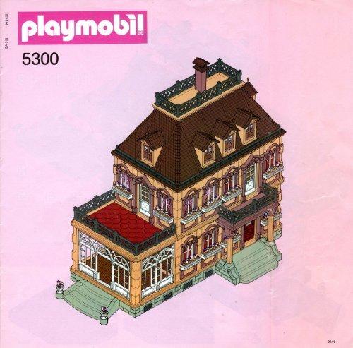 Notice Montage Maison Playmobil 5300 Avie Home