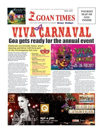 GoanTimes February 24th 2017 Edition