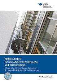 PRAXIS-CHECK für Immobilien-Verwaltungen und Vermietungen