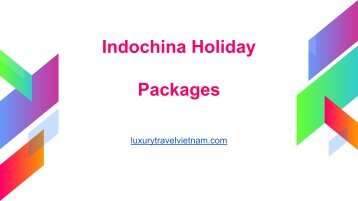 Indochina Holiday Packages