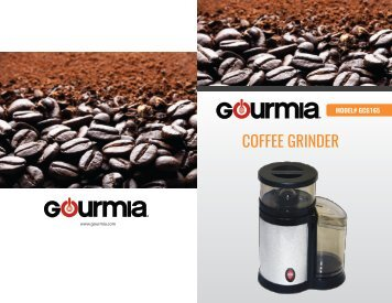 Programmable Conical Burr Coffee Grinder Sunbeam