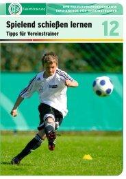 Broschüre 12: Spielend schießen lernen - FV Griesheim