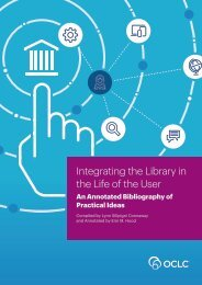Integrating the Library in the Life of the User
