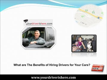 Benefits of Hiring Drivers