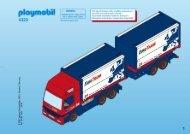 Playmobil 4323 - Notice de montage Playmobil 4323