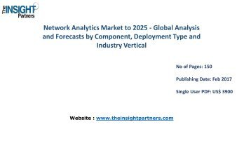 Network Analytics Market with business strategies and analysis to 2025 |The Insight Partners