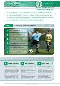 """DFB-Lehreinheit """"spielend Passen lernen """" - Impressum - Seite 7"""