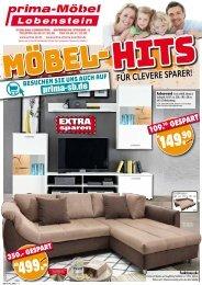 Prima Möbel Lobenstein: Möbel-Hits für clevere Sparer - Möbel + Küchen extra günstig kaufen!