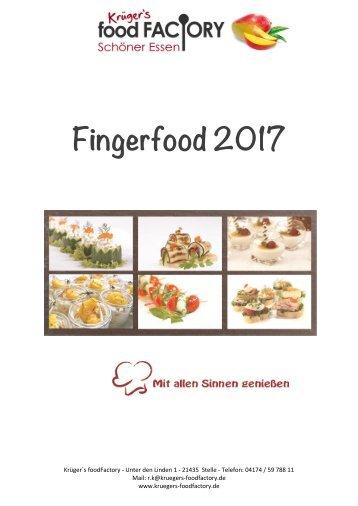 Fingerfood 2017