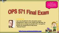 OPS 571 Operations Management Final Exam Pdf Download @ Assignment E Help