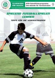 SPIELEND FUSSBALLSPIELEN LERNEN - REGIOfussball.ch