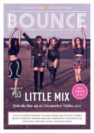 Bounce Magazine March Edition 2017