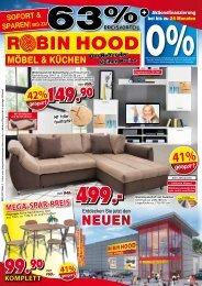 Robin Hood Möbel und Küchen in 78166 Donaueschingen: Sofort bis zu 63% sparen!