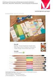 Der Bleistift, der wächst - nachhaltiges Werbemittel, tolle Idee