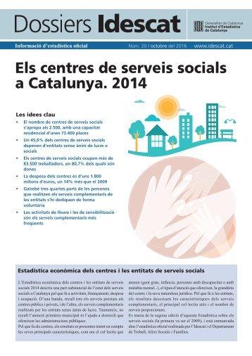 Els centres de serveis socials a Catalunya 2014