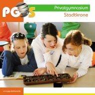 PDF-Datei jetzt hier laden - Privatgymnasium Stadtkrone - Dortmund