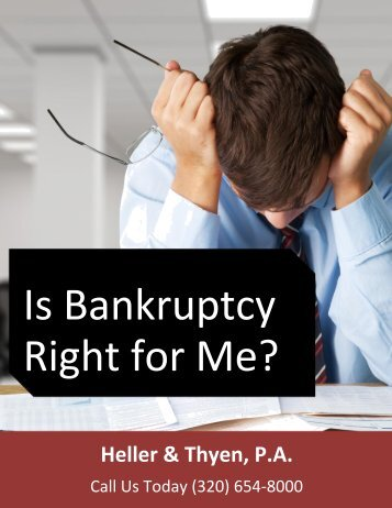 Ebook Is Bankruptcy Right for Me