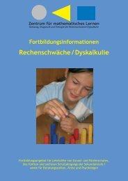 ZDB Broschüre.indd - Zentrum für mathematisches Lernen Kassel