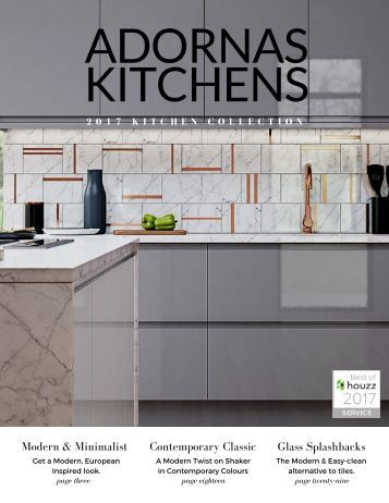ADORNAS KITCHENS 2017 COLLECTION