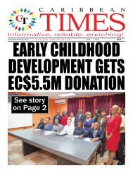 Caribbean Times 5th Issue - Friday 24th February 2017