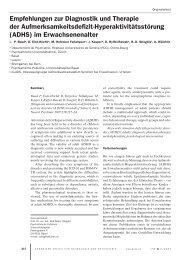 Empfehlungen zur Diagnostik und Therapie der ...