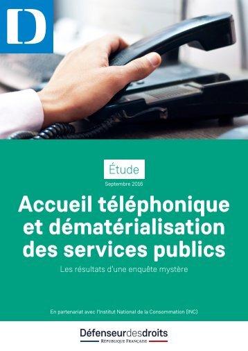 des services publics