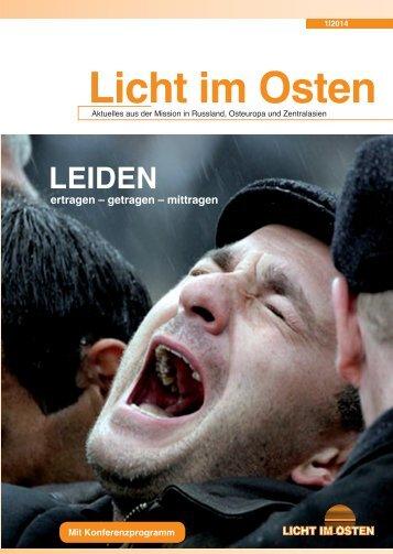 LICHTIMOSTEN_1/2014 Leiden
