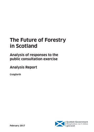 The Future of Forestry in Scotland