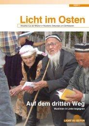 LICHTIMOSTEN_2/2011 Auf dem dritten Weg